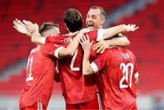 Россия победила Венгрию в Лиге наций УЕФА