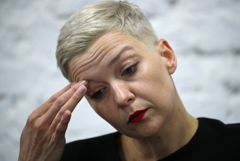 """АТН и """"БелТА"""" сообщили о задержании Колесниковой на границе"""