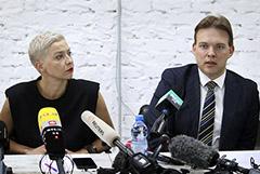 Белорусские оппозиционеры Колесникова и Знак заключены под стражу