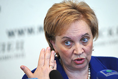 Егорова подала заявление об отставке с поста председателя Мосгорсуда