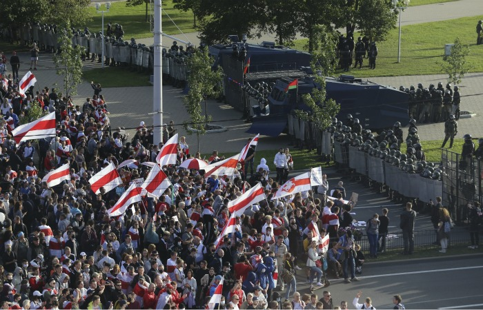 Свыше 400 человек задержаны на акции протеста в Минске