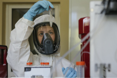 В России коронавирус за сутки выявлен еще у 5 449 человек