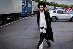 Хасидов-паломников не осталось на границе Белоруссии и Украины
