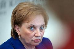 Полномочия председателя Мосгорсуда Егоровой будут прекращены с 23 октября