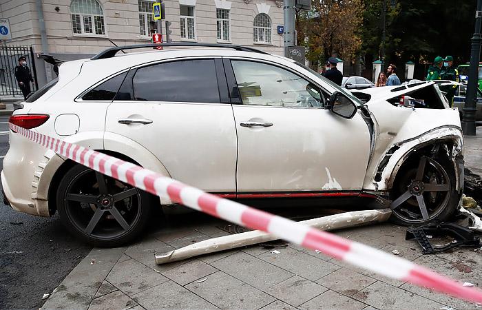 В крови рэпера, врезавшегося в людей в центре Москвы, нашли наркотики