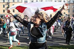 Акция протеста в Минске завершилась