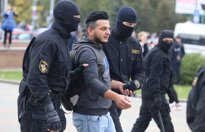 Более ста человек задержаны на акциях протеста в Белоруссии