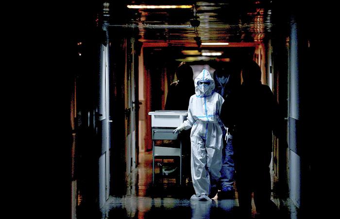 В России зарегистрирован  8 481 новый случай заражения коронавирусом