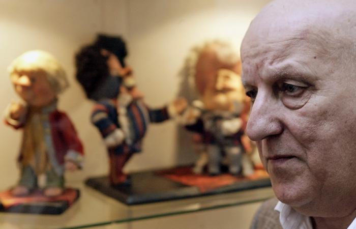 Умер автор книг о Фунтике Валерий Шульжик