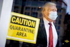 Трампа на несколько дней направили в военно-медицинский центр