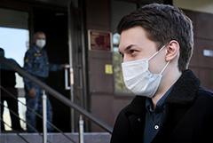 Суд отказался продлевать испытательный срок для Егора Жукова