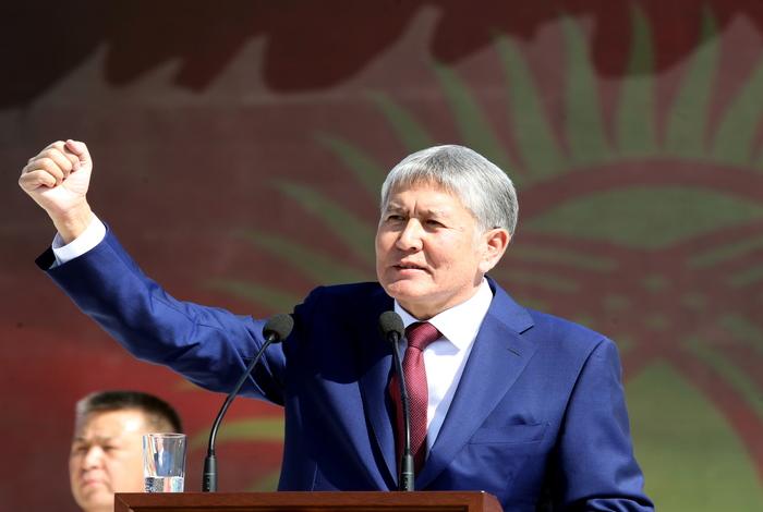 Экс-президент Киргизии Атамбаев освобождён из СИЗО