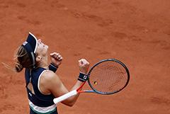 131-я ракетка мира Подороска вышла в полуфинал Roland Garros