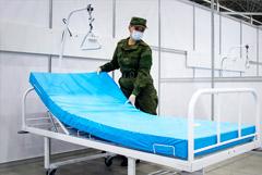 """В парке """"Патриот"""" снова откроют COVID-госпиталь на 1400 мест"""