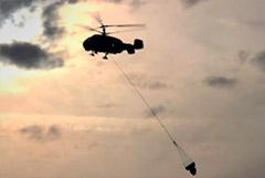 Лесной пожар под Воронежем начался из-за учебных стрельб с вертолета