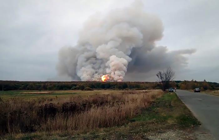 В 14 населенных пунктах под Рязанью отключили газ из-за пожара на арсенале