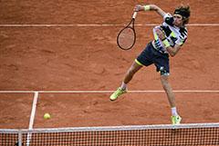 Андрей Рублев проиграл в четвертьфинале Roland Garros