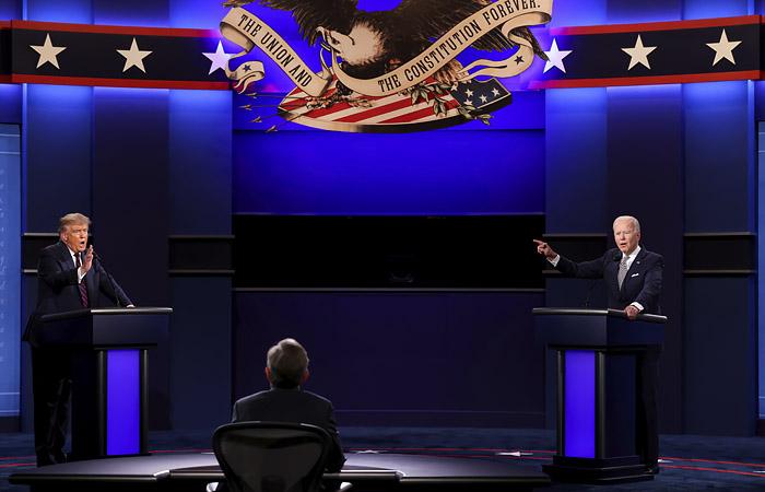 Путин счел, что упоминания РФ на дебатах США польстят россиянам