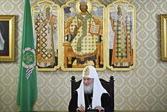 Патриарх Кирилл ушел на карантин после контакта с COVID-больным