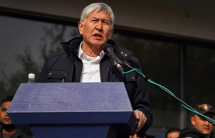 В партии Атамбаева заявили о покушении на экс-президента Киргизии