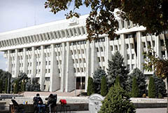 Президент Киргизии подписал указ об отставке правительства