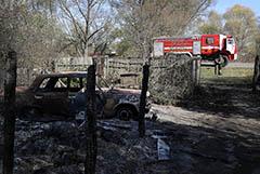 Пожар на складе боеприпасов в Рязанской области полностью потушен
