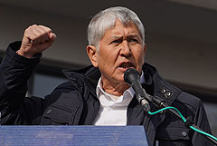 Соратница экс-президента Киргизии Атамбаева заявила о его задержании