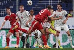 Сборные России и Венгрии сыграли вничью в Лиге наций УЕФА