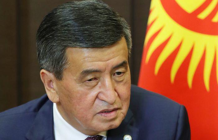 Президент Киргизии призвал парламент утвердить Жапарова премьером