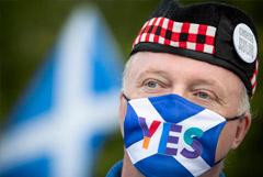 Число сторонников независимости Шотландии выросло до рекордного уровня