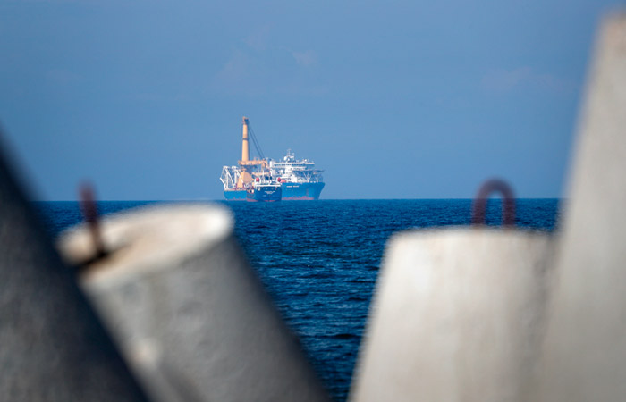 """Трубоукладчик """"Газпрома"""" начал готовиться к работам на """"Северном потоке 2"""""""