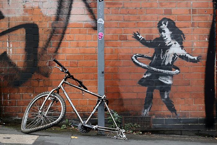 Новая работа Бэнкси появилась в Ноттингеме