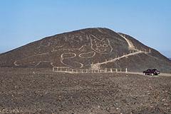 В Перу обнаружили древний геоглиф кошки