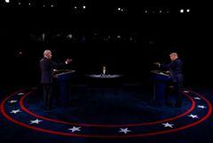 Финальные дебаты Трампа и Байдена прошли спокойнее, но не без взаимных обвинений