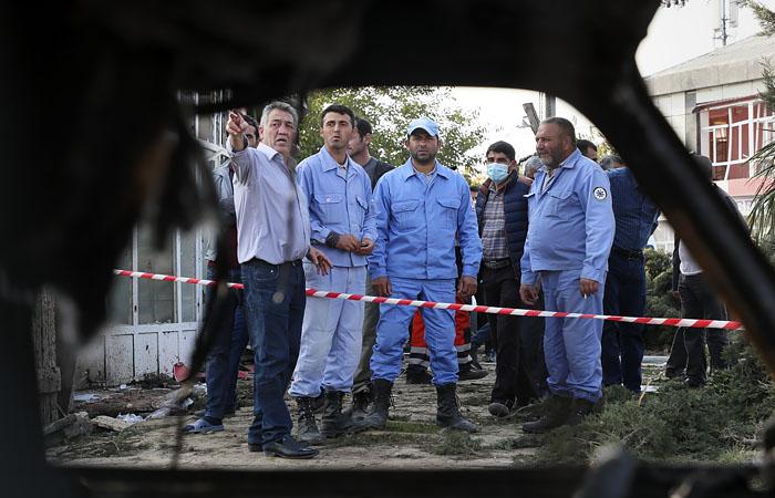 Баку заявил о 20 погибших в результате обстрела Арменией города Барда