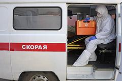 В Омске две скорые привезли больных к Минздраву из-за отказа больниц
