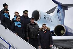 Ту-154 выполнил последний гражданский перелет в России