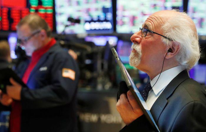 Рынок акций США рухнул на тревогах по поводу экономики