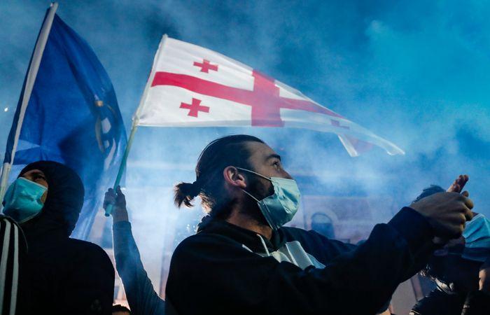 """""""Грузинская мечта"""" после подсчета 28% голосов получает большинство"""
