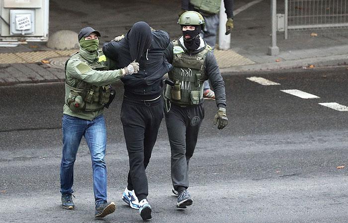 Правозащитники сообщили о 218 задержанных в Минске