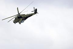 В Армении сбит российский вертолет Ми-24