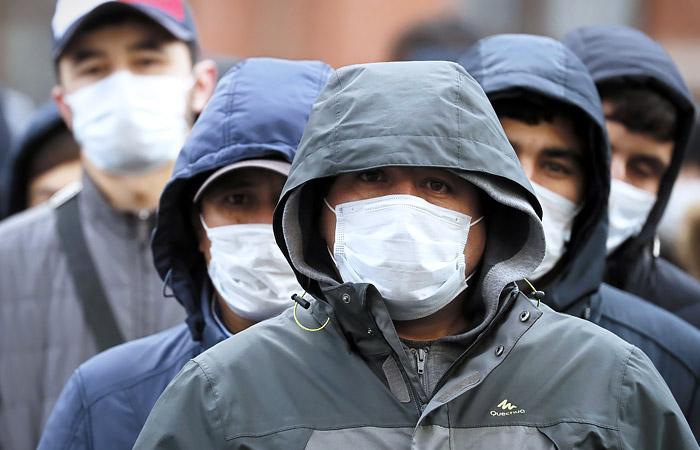 Мигранты коронавирус