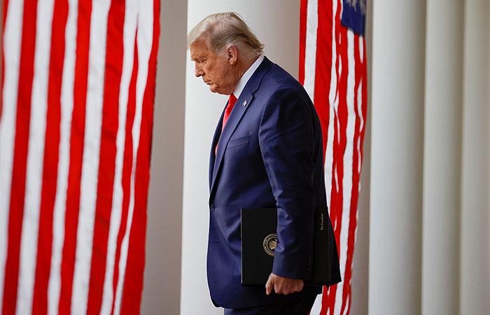 Трамп фактически признал победу Байдена на выборах президента в США