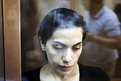 Мосгорсуд приговорил Карину Цуркан к 15 годам колонии за шпионаж