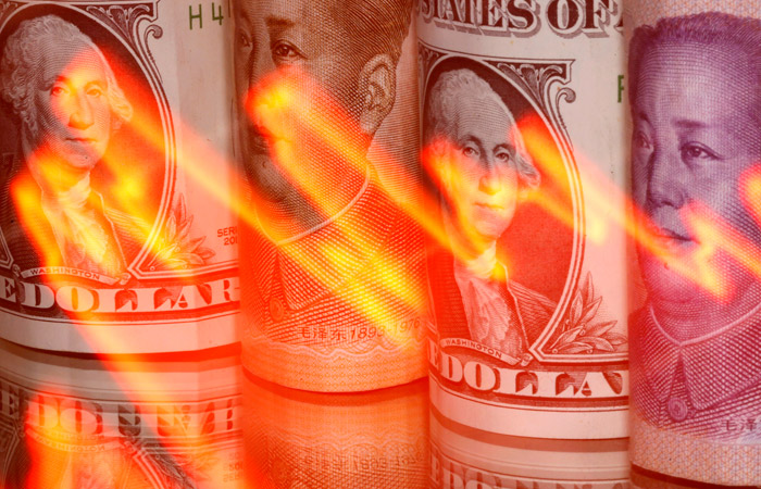 Курс юаня к доллару подскочил до максимума с 2018 года