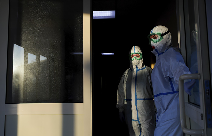 В Подмосковье открыли самый большой в регионе коронавирусный госпиталь