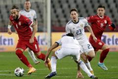 Сборная России со счетом 0:5 проиграла Сербии в Лиге наций УЕФА