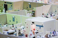 Голикова сообщила о занятости 81% коек для больных коронавирусом