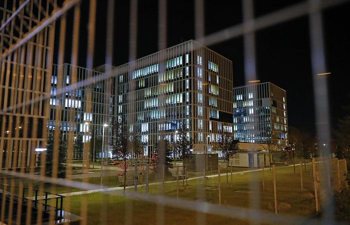 Кислородную трубу прорвало в пустом помещении больницы в Коммунарке