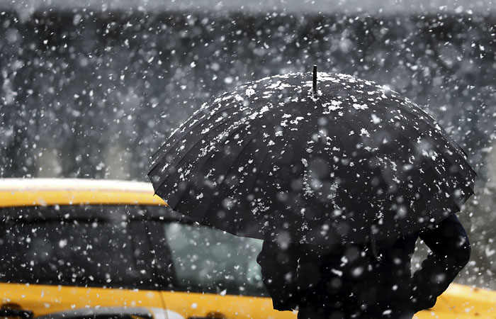 Метель и ледяной дождь приближаются к Московскому региону с северо-запада